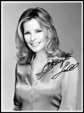 Cheryl Ladd, Autografiado, Imagen de Lona de algodón. edición Limitada (CL-15)