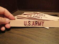 Vintage U.S. ARMY Embroidered Uniform Patch - Desert Storm Era