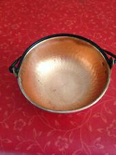 Petite marmite - bassine cuivre martelé : Pot in copper