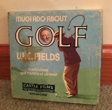 1960's W.C. Fields - Much Ado About Golf Movie on Super 8mm in Original Box - VG