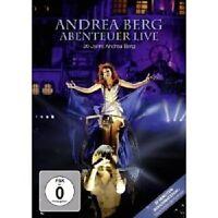"""ANDREA BERG """"ABENTEUER - LIVE"""" DVD NEU"""