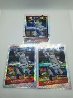 2020 Panini Donruss Baseball Bo Bichette 3 Card Rookie Lot Blue Jay MLB
