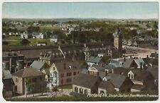 Union Station from Western Promenade, Portland, Maine - Antique Postcard