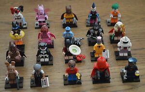Lego® 71017 Minifiguren Minifigures The Batman Movie alle 20 Figuren komplett
