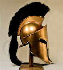 Movie Spartan King-Leonidas+Medieval Roman Helmet Reenactment with cotton cap