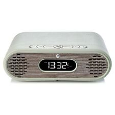 VQ Rosie-Lee DAB Digital Fm Radio Despertador Altavoz Bluetooth-Roble de cal