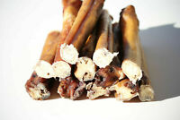 "6"" Inch Thick BULLY STICKS for Dogs Natural Chews treats made in USA 48-60g wt."