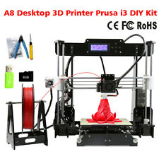 Anet A8 Desktop 3D Printer Prusa i3 DIY Kit Stampante 3D ABS/ PLA/ HIPS/ WOOD