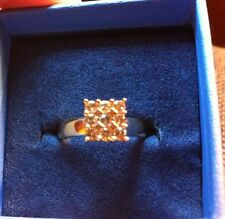 Champagne Diamond Ring 10kt, Yellow Gold. 0.50 Ctw.  Size 7.
