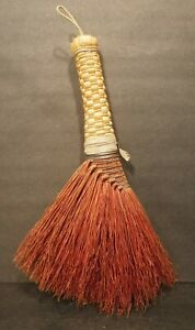Vtg. Berea College Student Industries Whisk Broom Antique 1960's Berea Kentucky