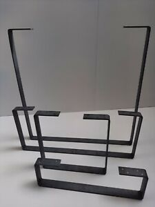 Coffee Table Leg Bench Raw Steel Frame Industrial Style Rustic Hairpin Farm FTL