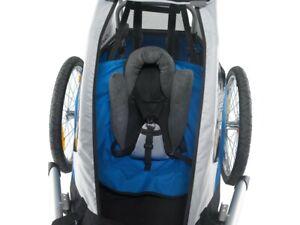 Sitzstütze für Fahrrad Kinderanhänger Chariot Croozer Kid XLC Duo NEU