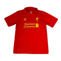 WARRIOR FC LIVERPOOL 2012/2013 HOME SOCCER FOOTBALL SHIRT JERSEY MENS SIZE L