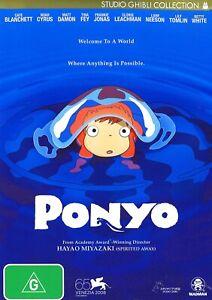 353A NEW SEALED PONYO DVD Region 4