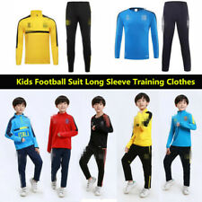 Kids Soccer Suit Long Sleeve Training Jersey Football Club national team Suit