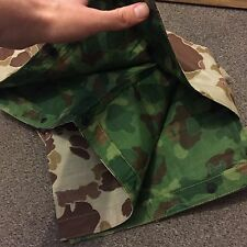 LAST FEW! US MARINE CORPS WW2 DUCK HUNTER CAMO PONCHO 1944 USMC PACIFIC UNISSUED