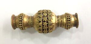 Rare! Vintage antique Handmade 18K Gold jewelry Bead Pendant
