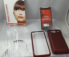 New Seidio SURFACE Case for HTC EVO Shift 4G - Retail Packaging - Red