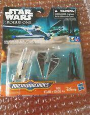 Star Wars Rogue one Micromachines Rebel U wing Tie striker Krennic's imperial