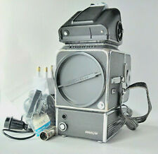 Hasselblad 500 ELM (1981) + Metering PME Finder + A12 Film Back + Accessories