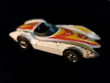 Vintage Hot Wheels Second Wind 1976 Hong Kong #5 White Diecast Collectible
