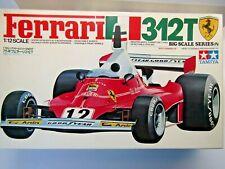 Tamiya Vintage 1 12 Big Scale Ferrari 312t Model Kit Niki Lauda C Regazzoni