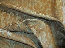 Auvergne in mocha by Bravo, an allover textured scroll decorator fabric