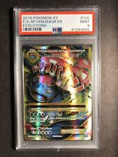 Pokemon PSA 9 Mega Venusaur EX Full Art 2016 Mint