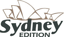 Outback Sydney Edition  RV LOGO Graphic  decals Green and tan version