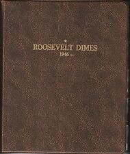 Roosevelt Dime Collection 1946-2010 48 Silver 31 Proofs 168 Total Coins