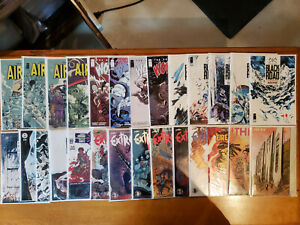 Image Comics Lot Invincible the Fix Extremity Wanted Firepower Wolfman