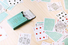 Misc Goods Deck - Green - Playing Cards - Magic Tricks - New
