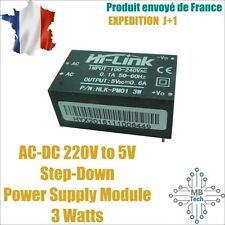 HLK-PM01 AC-DC 220V to 5V Power Supply Module Intelligent Switch Power Supply 3W
