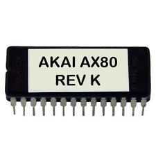 Akai AX-80 Rev K firmware OS update EPROM Latest O.S AX80