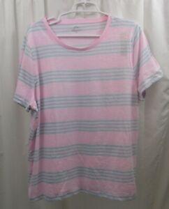 Women's J Crew Striped T Shirt 2X