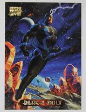 Fleer 1994 Marvel Masterpieces Card  #5 Black Bolt
