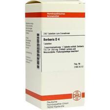 BERBERIS D 4 Tabletten 200St 2126449
