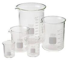 Pyrex Beaker, Low Form, Griffin, Starter Pack, 5 per case, #FL1010