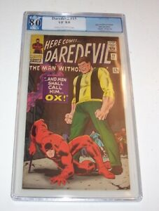 Daredevil #15 - Marvel 1966 Silver Age issue - PGX VF 8.0 - (Ox cover & issue)