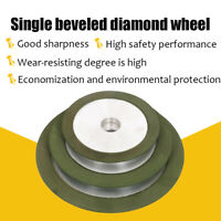 100/125/150mm Resin Diamond Grinding Wheel for Carbide Metal Cutter Grinder Disc