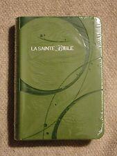 French Bible, Louis Segond 1910,  Green,  Imitation Leather, La Sainte Bible f/s