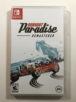 Burnout Paradise Remastered (Nintendo Switch, 2020) Fast Free Shipping