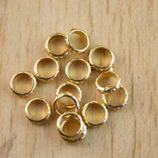 100pcs dark gold-tone ring charm findings h1272