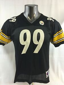 LEVON KIRKLAND PITTSBURGH STEELERS VINTAGE CHAMPION JERSEY YOUTH LARGE
