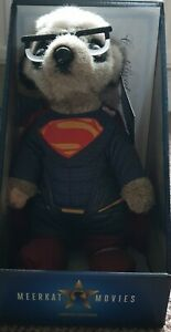 Compare The Market Sergei As Superman Meerkat Toy Complete With Certificate