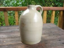 Antique stoneware jug (1/2 gal.)
