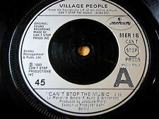 """VILLAGE PEOPLE-CAN 'T STOP THE MUSIC 7"""" vinyle"""
