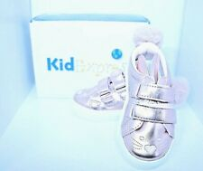 Kid Express Metallic Pink Bunny Sneakers NWT Size 6