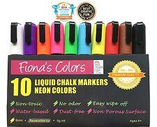 Liquid Chalk Markers Chalkboard 10pcs Blackboard Pen Kids Craft Office -Artist