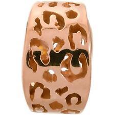 Jennifer Lopez ENDLESS Sterling Silver LEOPARD CUT ROSE GOLD 925 Charm #2500